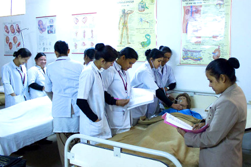 college in paramedical